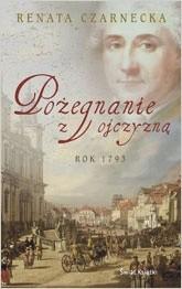 Okładka książki Pożegnanie z ojczyzną: rok 1793