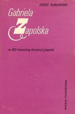 Okładka książki Gabriela Zapolska