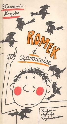 Okładka książki Romek i czarownice