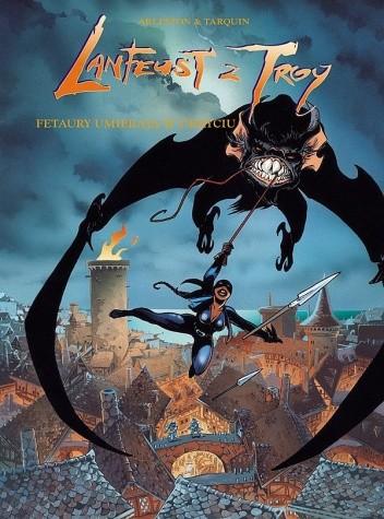 Okładka książki Lanfeust z Troy: Fetaury umierają w ukryciu
