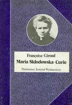 Okładka książki Maria Skłodowska - Curie