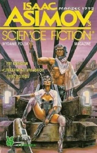 Okładka książki Isaac Asimov's science fiction Marzec 1992