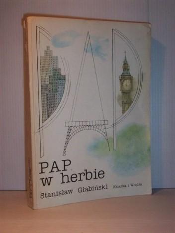 Okładka książki PAP w herbie