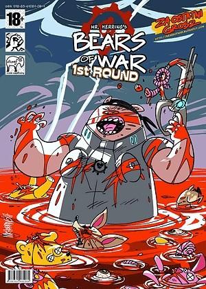 Okładka książki Bears of War: 1st Round
