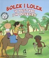 Okładka książki Bolek i Lolek w pustyni i w puszczy