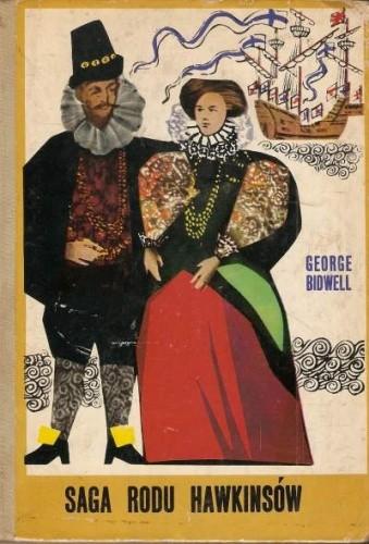 Okładka książki Saga rodu Hawkinsów