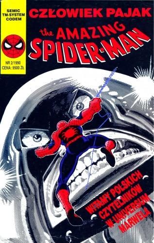 Okładka książki The Amazing Spider-Man 2/1990