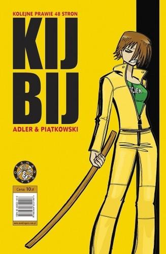 Okładka książki Prawie 48 stron - Kij Bij