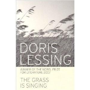 Okładka książki The grass is singing
