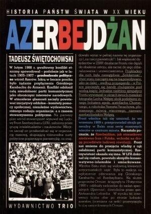 Okładka książki Azerbejdżan