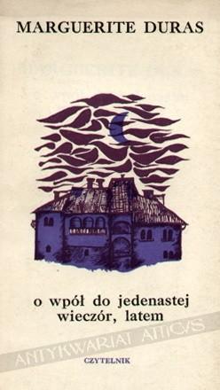 Okładka książki O wpół do jedenastej wieczór, latem