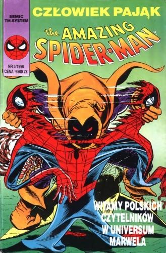 Okładka książki The Amazing Spider-Man 3/1990