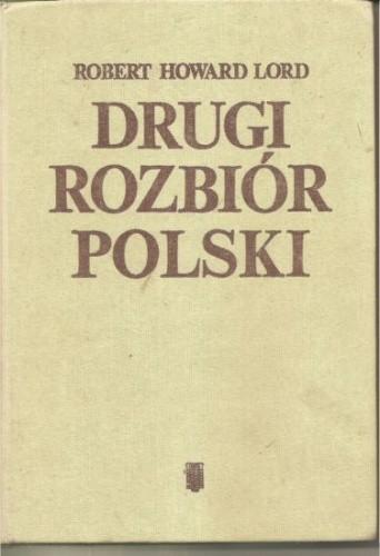 Okładka książki Drugi rozbiór Polski