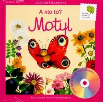 Okładka książki A kto to, motyl?