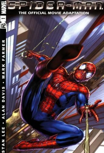 Okładka książki Spider-man: The Official Movie Adaptation
