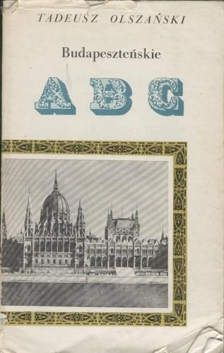 Okładka książki Budapeszteńskie ABC