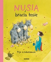 Okładka książki Nusia i bracia łosie