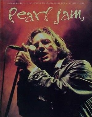 Okładka książki Ciemne Zaułki - ilustrowana biografia Pearl Jam