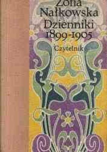 Okładka książki Dzienniki 1899-1905