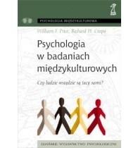 Okładka książki Psychologia w badaniach międzykulturowych