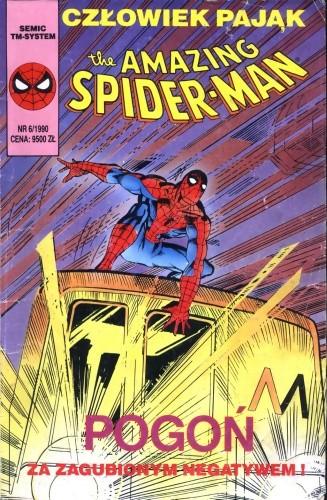 Okładka książki The Amazing Spider-Man 6/1990