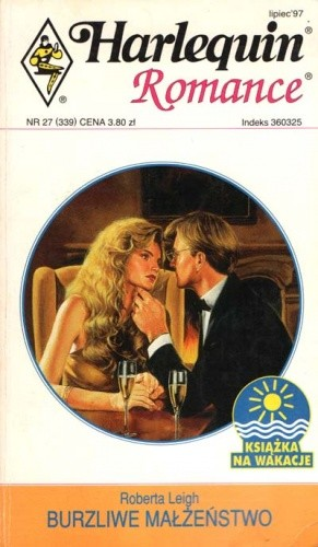 Okładka książki Burzliwe małżeństwo