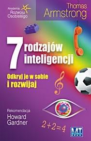 Okładka książki 7 rodzajów inteligencji