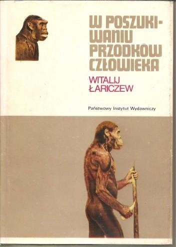 Okładka książki W poszukiwaniu przodków człowieka