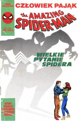 Okładka książki The Amazing Spider-Man 1/1991