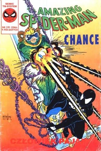 Okładka książki The Amazing Spider-Man - Chance 03/1991 #009