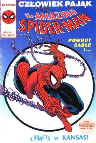 Okładka książki The Amazing Spider-Man 5/1991
