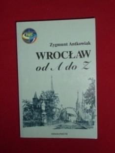 Okładka książki Wrocław od A do Z