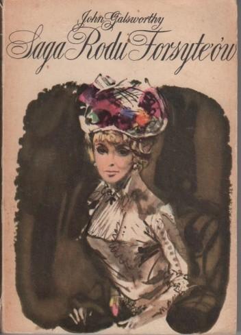 Okładka książki Saga rodu Forsyte'ów t. III