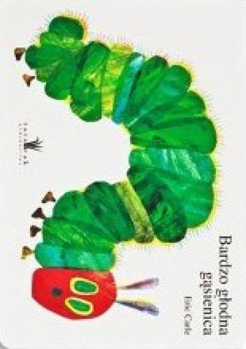 Okładka książki Bardzo głodna gąsienica