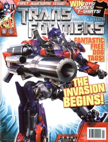 Okładka książki Transformers - Robots in Disguise