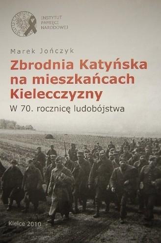 Okładka książki Zbrodnia Katyńska na mieszkańcach Kielecczyzny