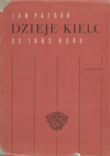 Okładka książki Dzieje Kielc 1864-1939