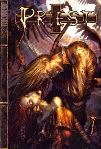 Okładka książki Priest 7
