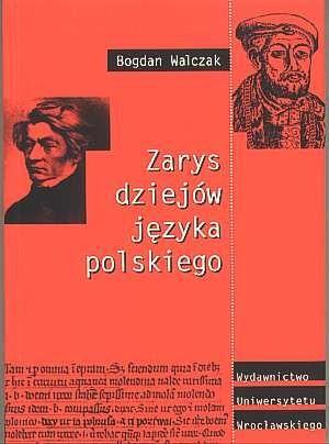 Okładka książki Zarys dziejów języka polskiego