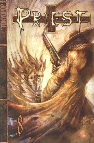 Okładka książki Priest 8