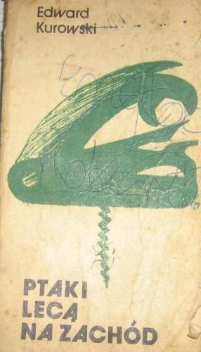 Okładka książki Ptaki lecą na zachód