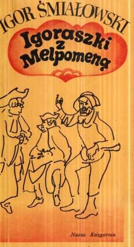 Okładka książki Igoraszki z Melpomeną