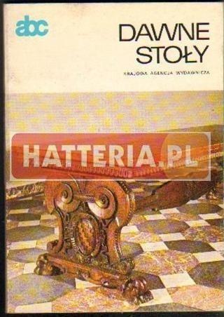 Okładka książki Dawne stoły