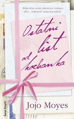 Okładka książki Ostatni list od kochanka