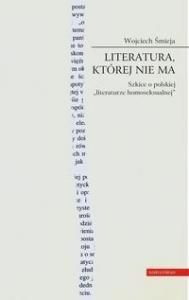 Okładka książki Literatura, której nie ma