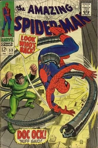 Okładka książki Amazing Spider-Man - #053 - Enter: Dr. Octopus