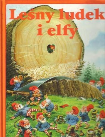 Okładka książki Leśny ludek i elfy