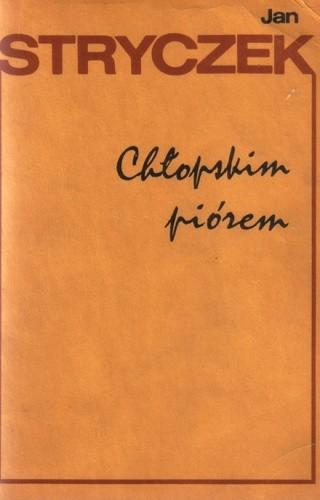 Okładka książki Chłopskim piórem