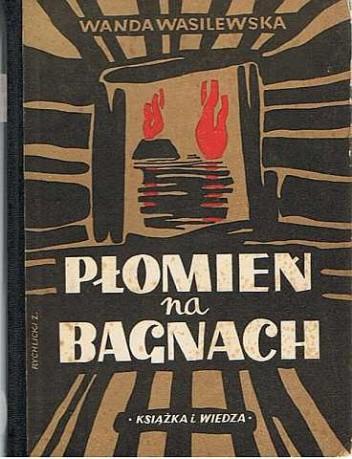 Okładka książki Płomień na bagnach