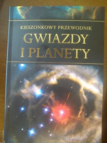 Okładka książki Gwiazdy i Planety. Kieszonkowy przewodnik.